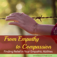 From Empathy to Compassion