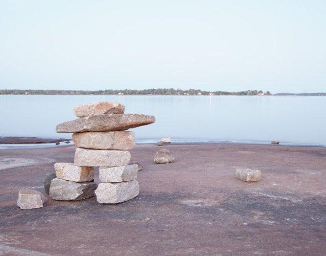 Inuksuk - Canadian Icon Photograph