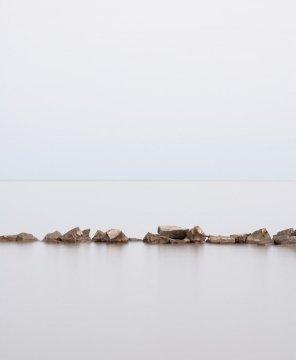 Zen Wall Art - Lake Erie #2