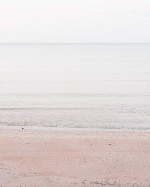Pale Coastal Wall Decor - Lake Huron #3