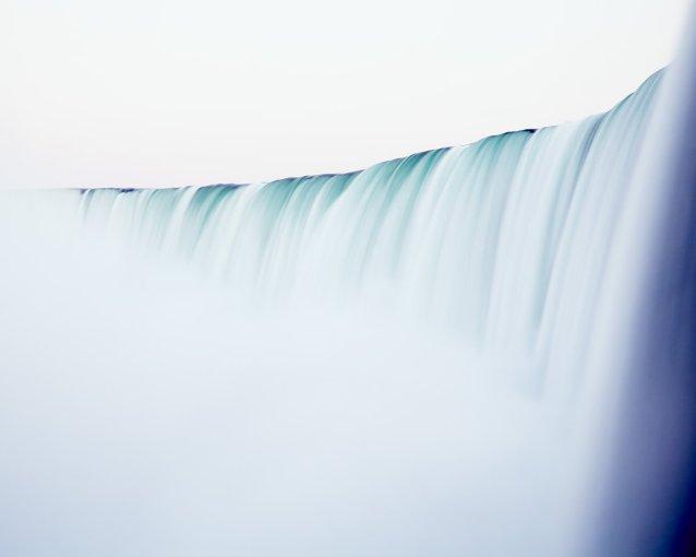 Modern Waterfall Prints - The Falls