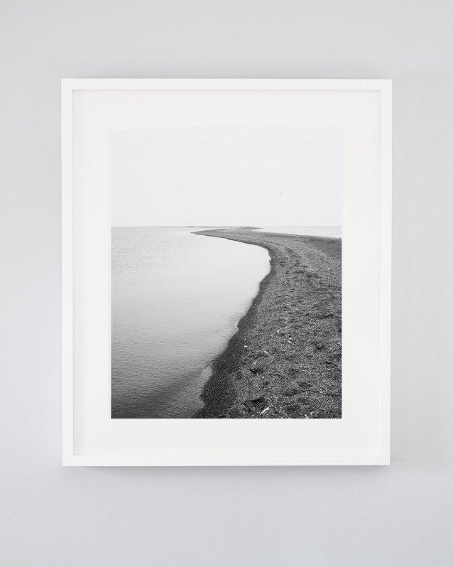 Black and White Beach - Walking Meditation
