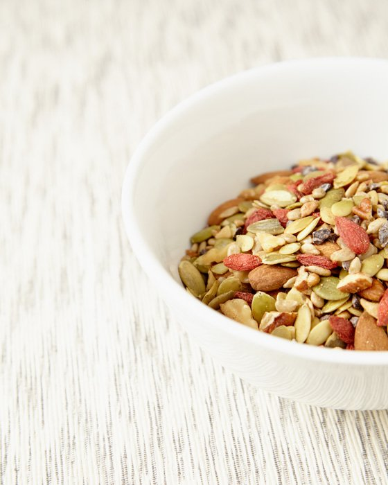 Commercial Photography London - Trail Mix