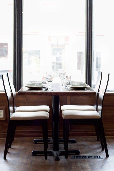 Peterborough Restaurant Photography - Cervantes Window Seat