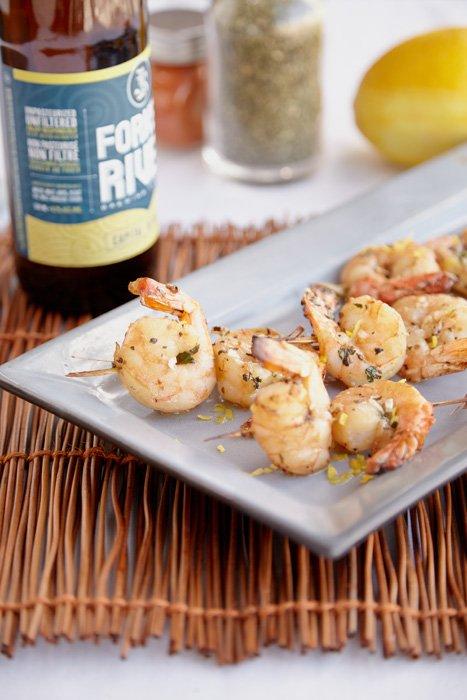 London Food Photography - Marinated Shrimp