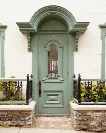 Green Door Decor - Olivia Writes - Old Quebec City Photography