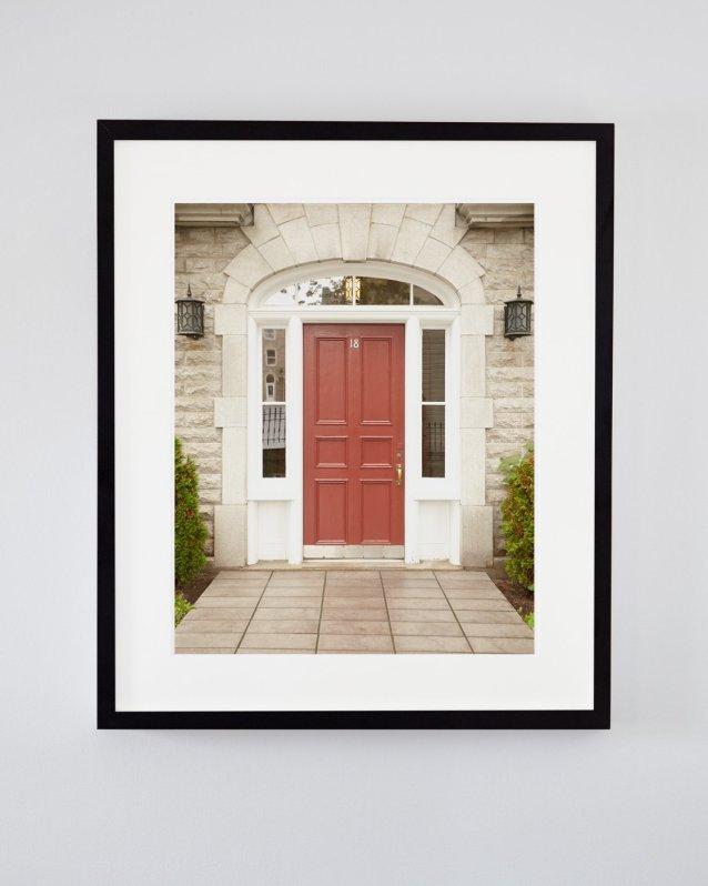 Modern Rustic Decor - Ursula - Red Door Photograph