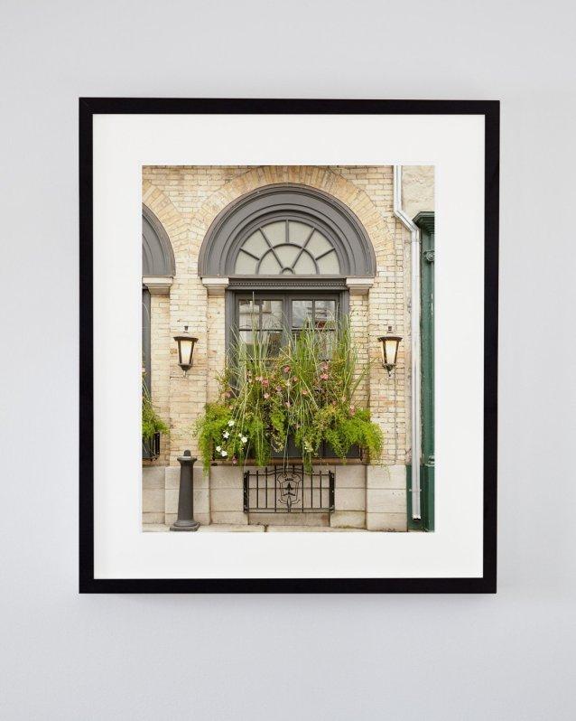 Rustic Wall Art - Lola's Garden - European-Style Window Print