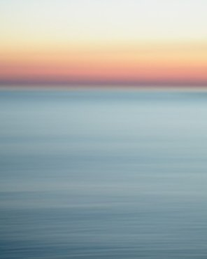 Abstract Sunset Beach Picture - Seltzer Sunset