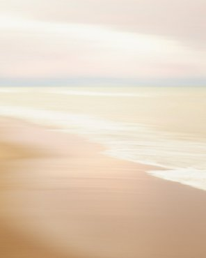 Pink Beach Surf Photograph - Washed Her Spirit Clean