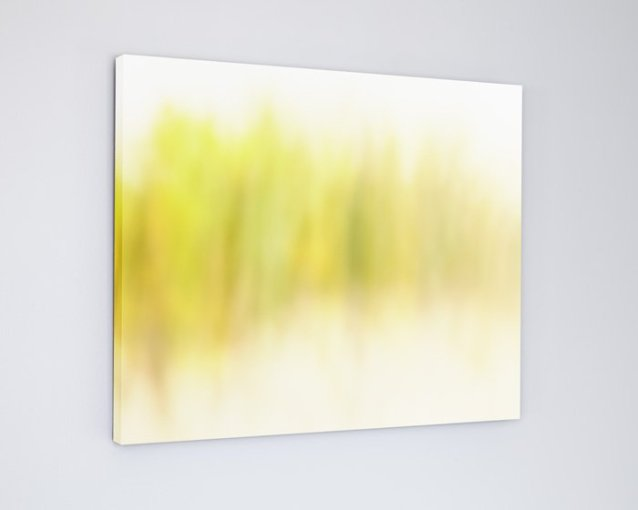 Yellow Abstract Landscape - Seaside Melody