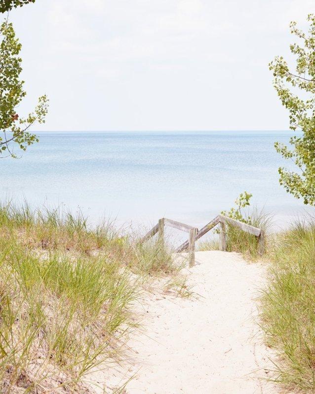 Pinery Steps Beach #5 -Beach Landscape Photography