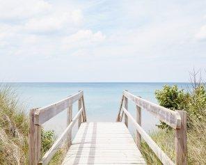 Pinery Steps Beach #9 - Coastal Landscape Photography