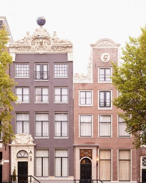 Apollo and Minerva - Amsterdam Architecture Photo