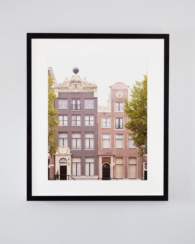 Apollo and Minerva - Framed Amsterdam Architecture Photo