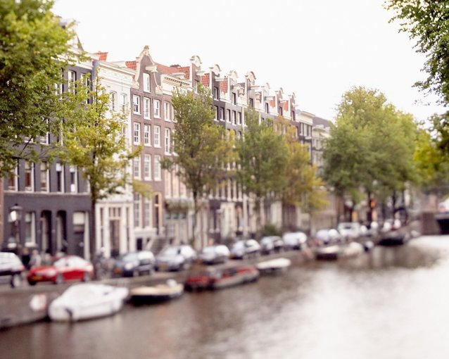 Prince's Canal Houses - Amsterdam Canal Picture