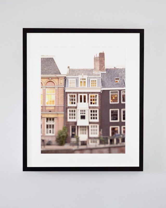 Lindsay's Library - Framed Amsterdam Contemporary Art Print