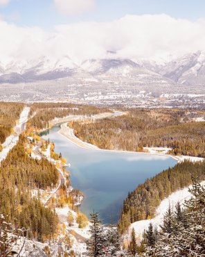 Beyond Blissful, Vertical - Canadian Rockies Photography