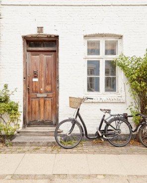 Darling Denmark - Scandinavian Bike Artwork Print