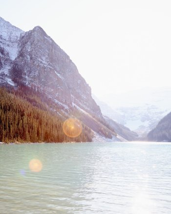 Majestic Mornings - Lake Louise Pic by Jennifer Squires