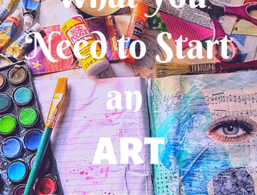 What You Need to Start an Art Journal
