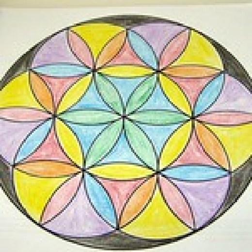 Mandala coloring page.