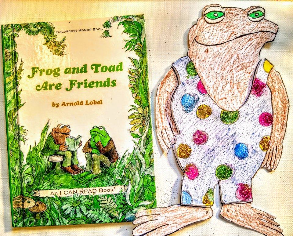 Frog and Toad are Friends; A Swim. Story Time & Craft
