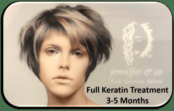 Keratin Treatment 3-5 Months