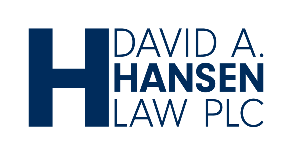 David A. Hansen Law PLC Logo