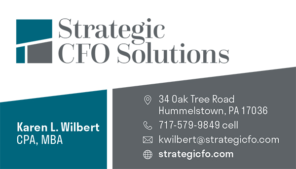 Strategic CFO Solutions Business Card