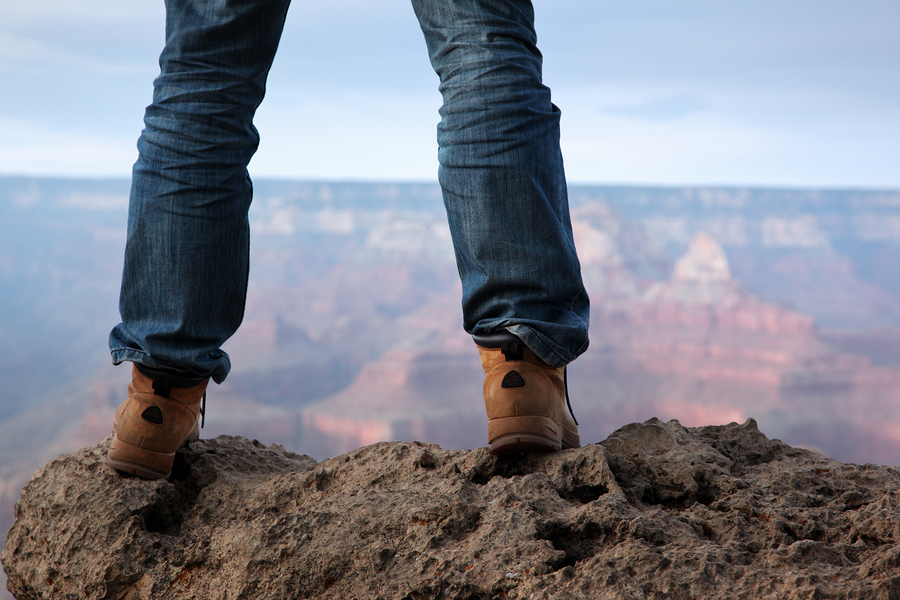 Image result for feet on a cliff