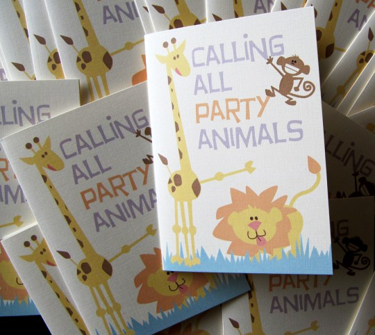 Kid's Party Invitation