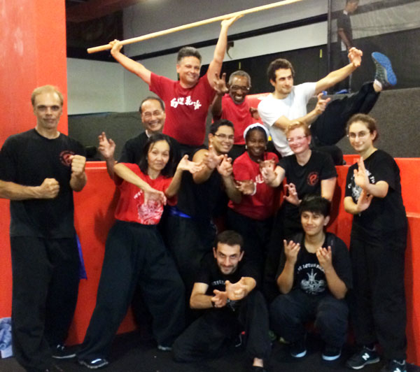 Kung Fu Family Photo