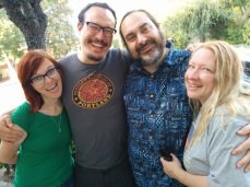 I return to LA for one short weekend and see some amazing people: Tracie, Remy, Andy, and Carol.