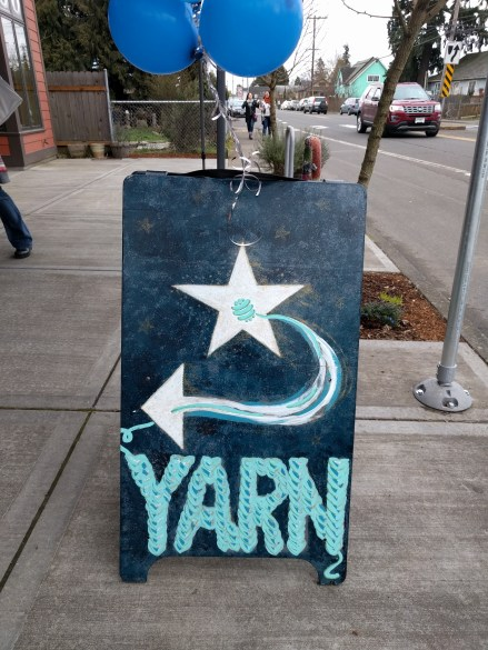 I once again attended the Rose City Yarn Crawl. Woot!!