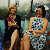 Elana and Amber, two amazing women, do a book event in town.