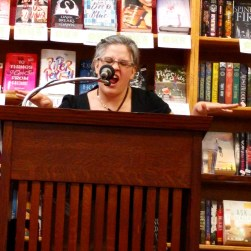 """Wendy """"lets the dogs out"""" at her book launch!"""