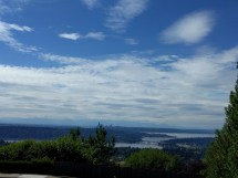 Seattle has nice skies.