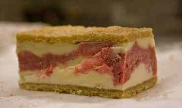 Strawberries and Rhubarb – Strawberry Rhubarb Buckle Recipe