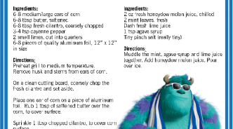 BBQ Recipes from #MonstersU!