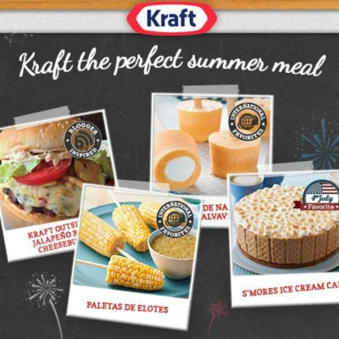 Kraft The Perfect Summer Meal
