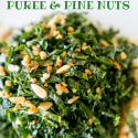 Salad Recipes | Kale Salad with Date Puree & Pine Nuts Recipe