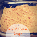 Mac n' Cheese Recipe + Cascade Platimum's Tough Food Cleaning Power