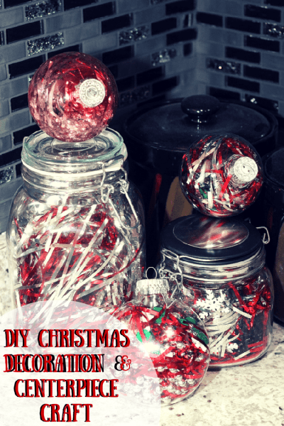 DIY Christmas Decorations & Centerpiece Craft Ideas