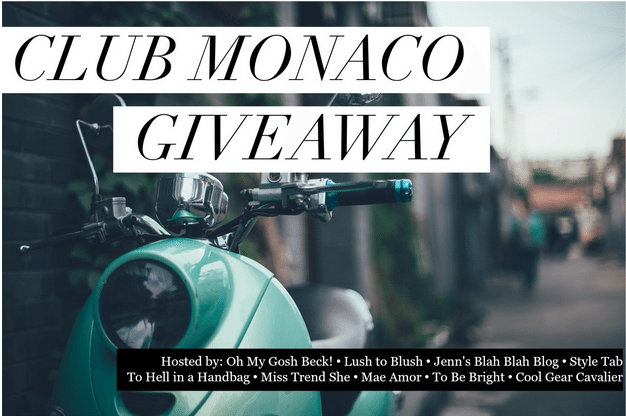 Enter to win the 200 club monaco gift card giveaway jenns blah enter to win the 200 club monaco gift card giveaway negle Gallery