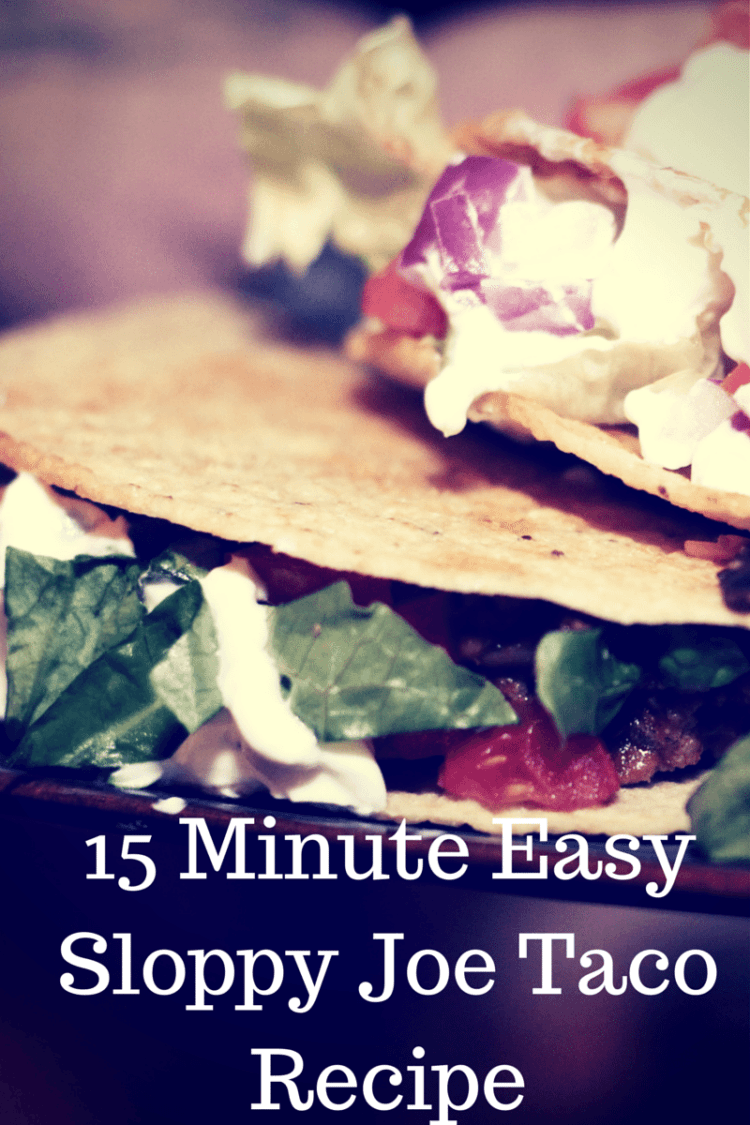 15 Easy Natural Make Up Tutorials 2014 For Beginners: 15 Minute Easy Sloppy Joe Taco Recipe