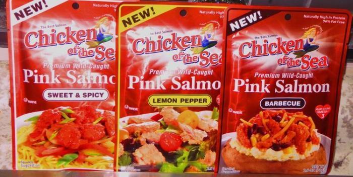 Salmon Flavor Pouches