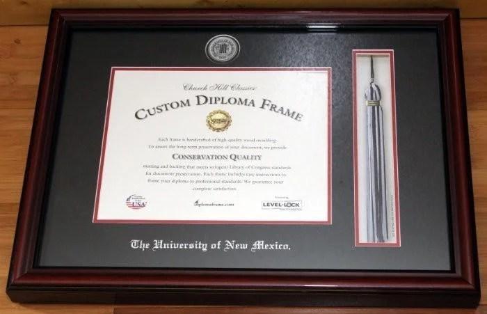 Gift ideas to celebrate graduation custom diploma frames chuch hill classics diploma frames solutioingenieria Image collections