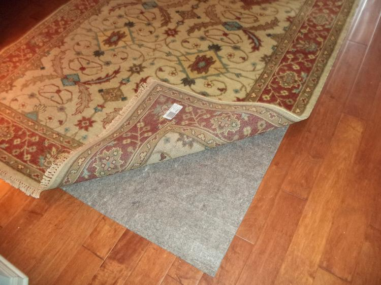 Protect Your Area Rug With A Pad From Rug Pad Usa Jenns