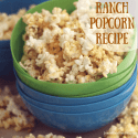 Things To Do When You're Unplugged + Ranch Popcorn Recipe